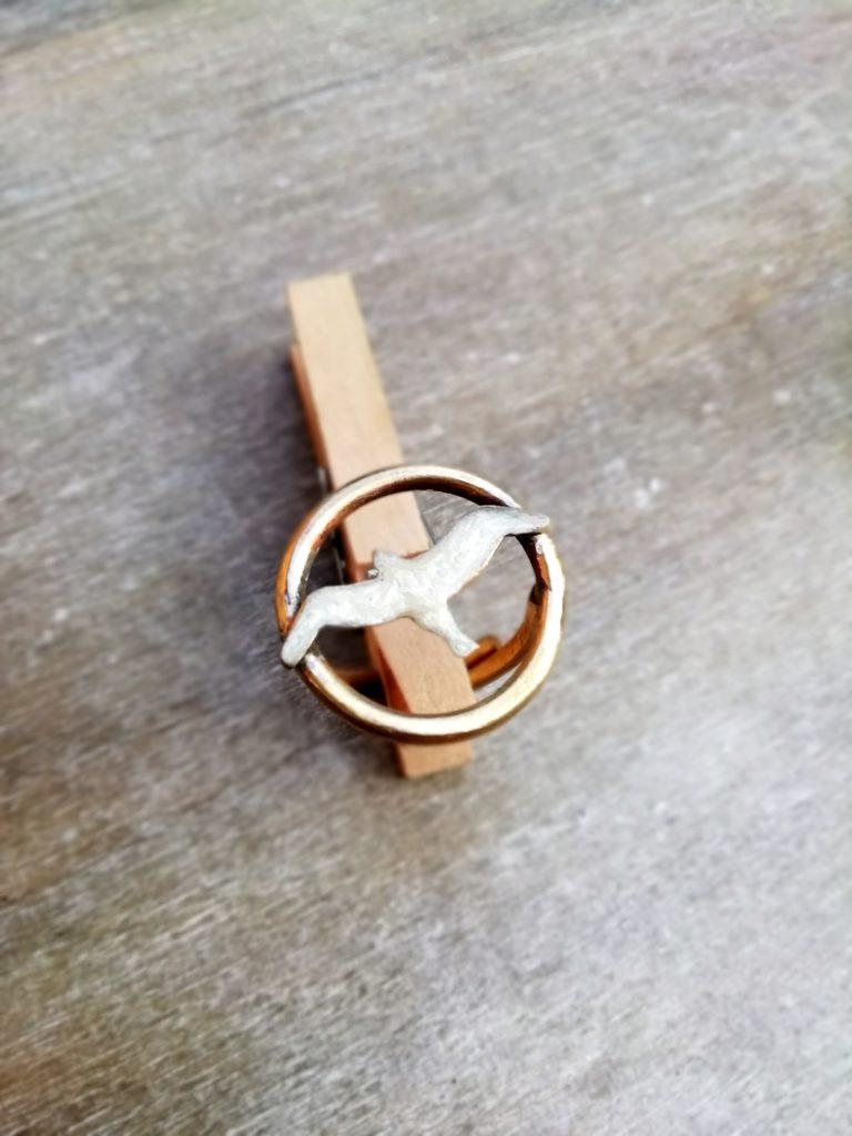 anello con gabbiano